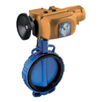 Butterfly valve type « LUG » - Quarter turn actuator - Series B3 93